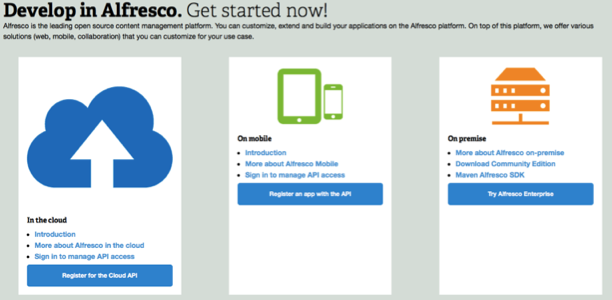 Alfresco oAuth sample application